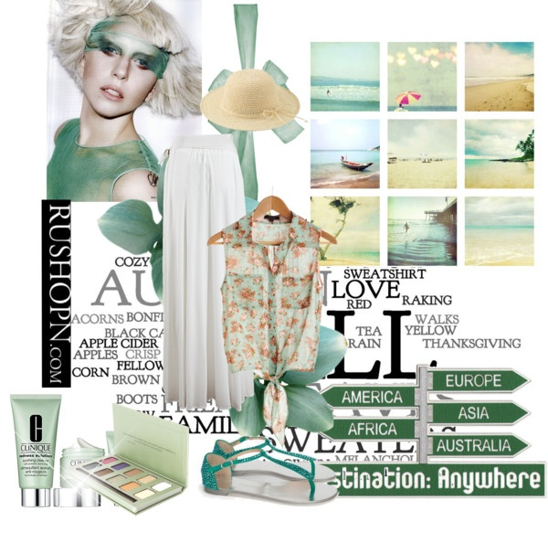 """Beautiful Green"" by ailly87 on Polyvore"