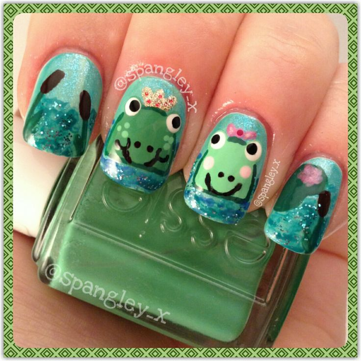 Adorable Princess Nail Salon: 96 Best Images About Cute Nails On Pinterest