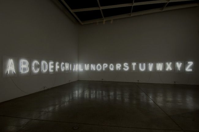 Fiona Banner, Every Word Unmade, 2007