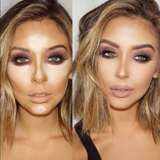 Image result for how to contour nose smaller | Contour makeup, Beauty hacks, Cream contour