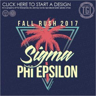 Sigma Phi Epsilon | SigEp | ΣΦΕ | Fall Rush | Fraternity Rush | Rush Shirt | TGI Greek | Greek Apparel | Custom Apparel | Fraternity Tee Shirts | Fraternity T-shirts | Custom T-Shirts