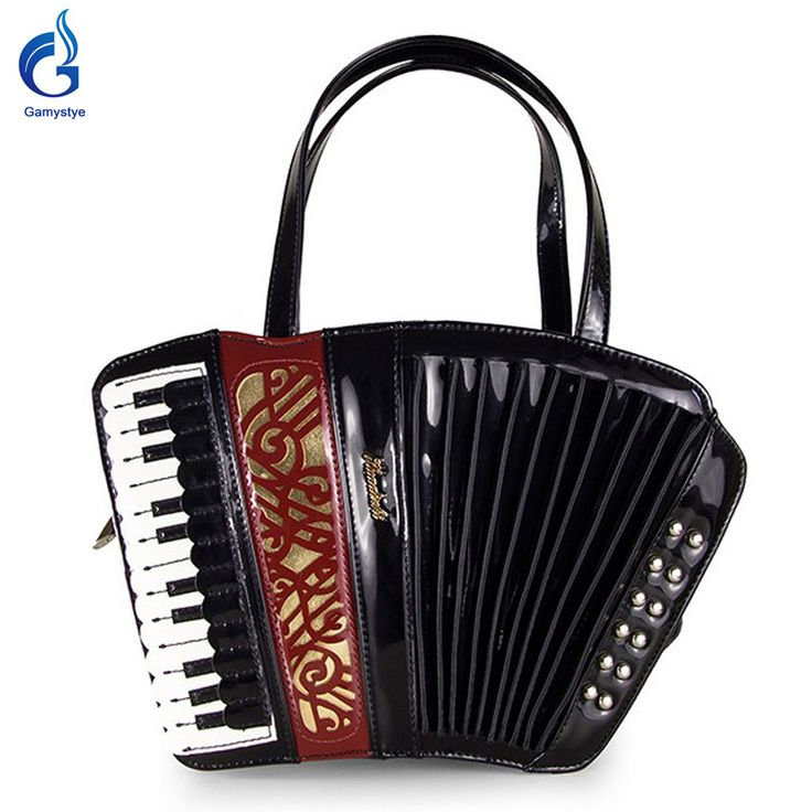 ShoulderOrganist guitar violin style bag Funmusic s gifts Black Red Like and share this pure awesomeness! #shop #beauty #Woman's fashion #Products #homemade