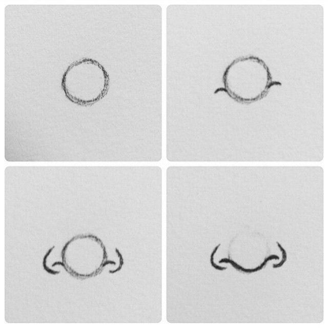 Como desenhar/Nariz