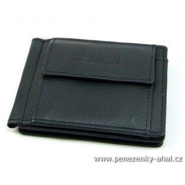 Dolarovka pánská - to je stylová peněženka se sponou pro uchycení bankovek.