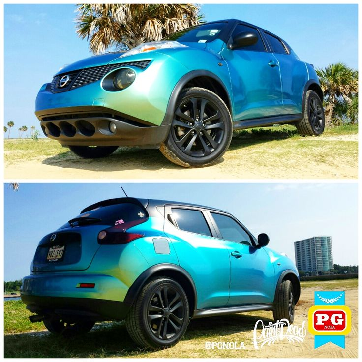 Chameleon 7 Tone Paint: Oh That FLIP FLOP Though..... Nissan Juke Wrapped Lapis