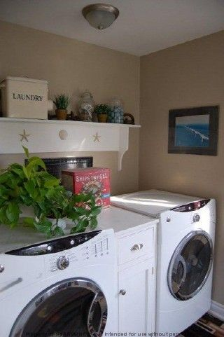 1000 images about laundry room on pinterest shelves washer and dryer and burlap valance. Black Bedroom Furniture Sets. Home Design Ideas