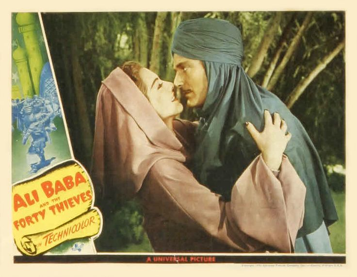 ALI BABA AND THE FORTY THIEVES     Universal Pictures, 1944. Directed by Arthur…