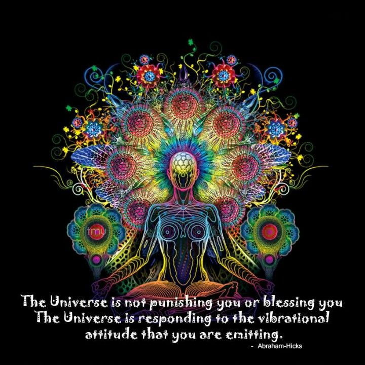 "Abraham Hicks: ""The Universe is not punishing you..."""