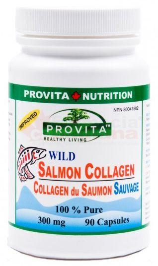 Colagen Pur din Somon Salbatic 300 mg 90 capsule Provita Nutriti