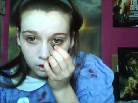 Bioshock little sister cosplay makeup tutorial!