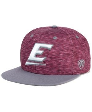 Top of the World Eastern Kentucky Colonels Energy 2-Tone Snapback Cap - Red Adjustable