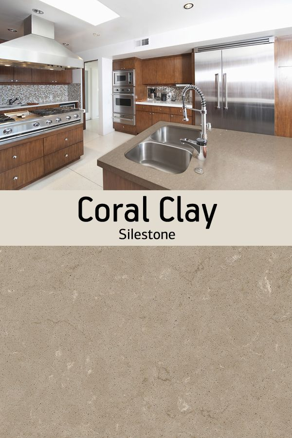 Looking For A Beige Countertop For Your Home Renovation Silestone Coral Clay Boasts Creamy Ear Quartz Kitchen Countertops Silestone Countertops Beige Kitchen