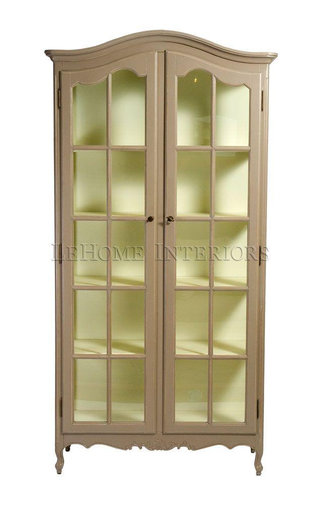 Мебель LeHome - Прованс, Арт деко, французский стиль, french style - Витрина L048