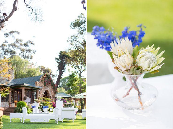 Garden wedding in South Africa at Shepstone Gardens