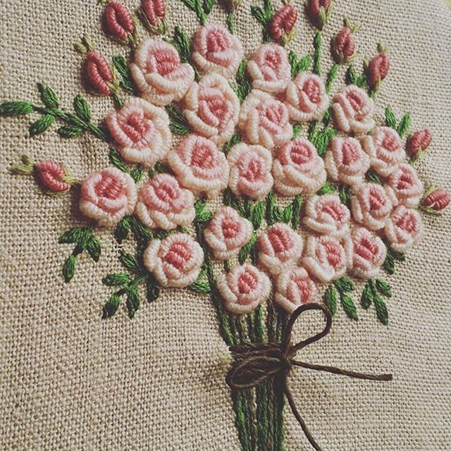 @up_in_the_hill #ricamo #embroidery #bordado #broderie #handembroidery #needlework