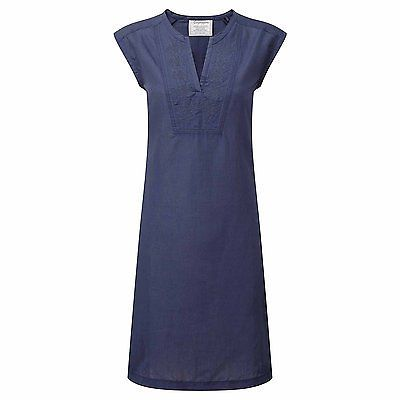 Size 16, Soft Navy, Craghoppers Women's Sleeveless Dress NEW