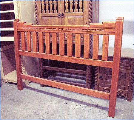 Top 25 ideas about headboards on pinterest western - Southwest style bedroom furniture ...