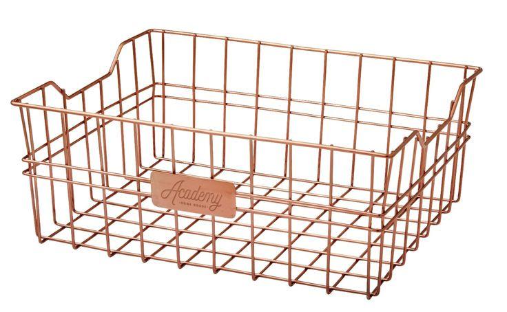 NEW ORWELL COPPERTONE SERVING BASKET Copper Tone Bread Serve Plate RECTANGLULAR