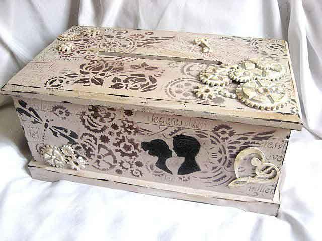 #Dar #nunta, #cutie #stil #cufar, cutie de #lemn #decorata. Produs lucrat manual pentru #tineri #casatoriti categoria #cadouri nunta. Cutie de lemn #masiv #stil cufar, #pictata #vintage / stil #epoca. Are ca #design o pereche de #indragostiti, #el si #ea. http://handmade.luxdesign28.ro/produs/dar-de-nunta-cutie-stil-cufar-cutie-de-lemn-decorata-29350/