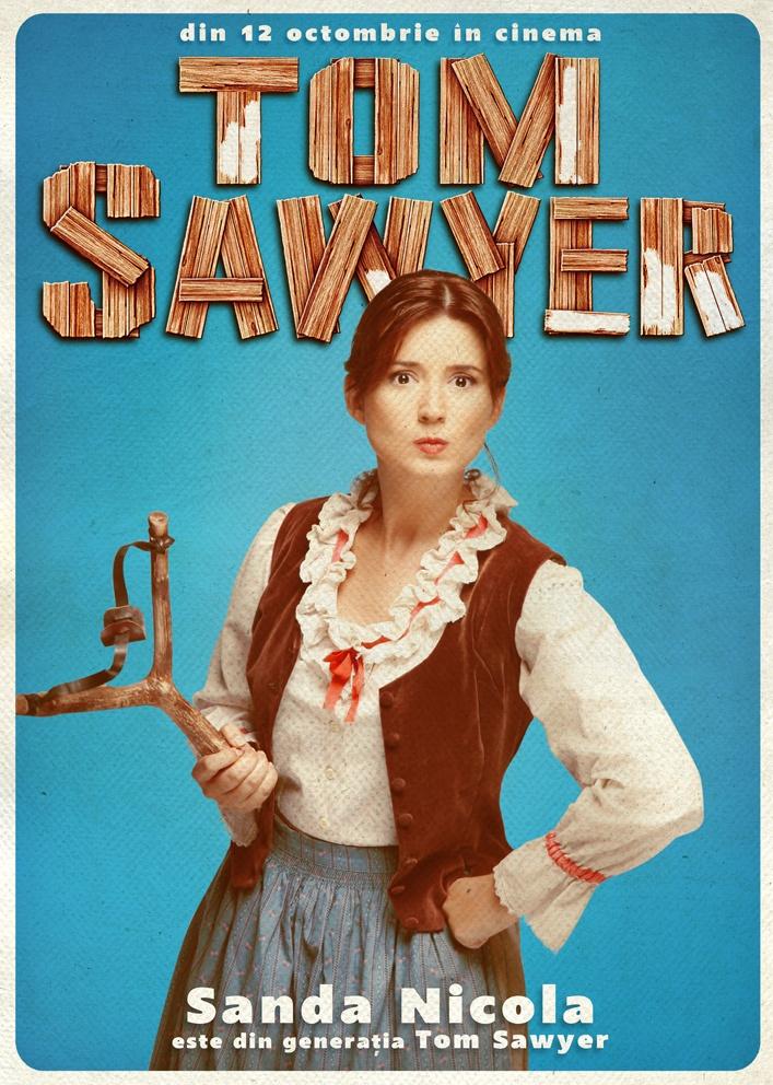 Sanda Nicola este din Generația TOM SAWYER!