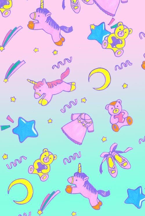 Cute Unicorn Background | Enchanted Unicorn ♥ | Pinterest