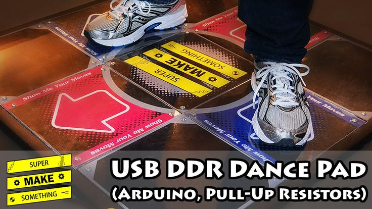 USB DDR dance pad made with arduino #WearableWednesday « Adafruit Industries – Makers, hackers, artists, designers and engineers!