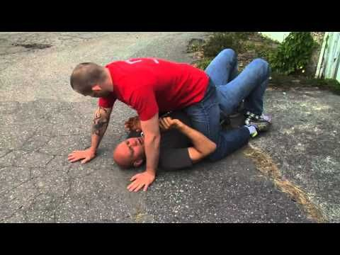 BJJ Self Defense Lesson 2: Escaping the Mount   >   this is hard for women to escape and why we need to know this