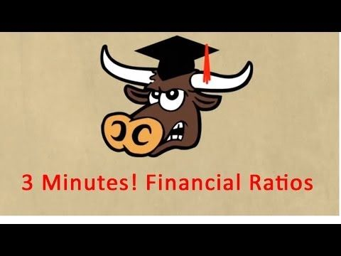 3 Minutes! Financial Ratios and Financial Ratio Analysis Explained - YouTube