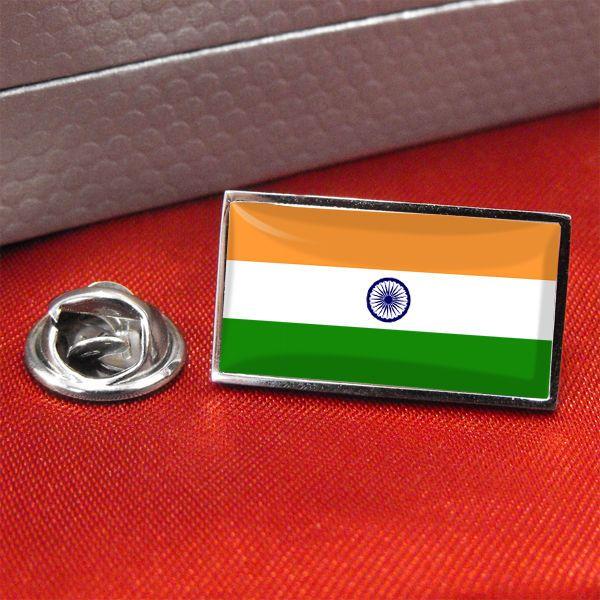 India Flag Lapel Pin Badge/Tie Pin
