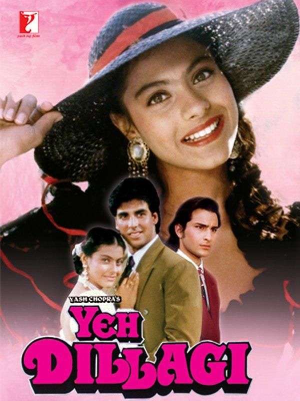 Yeh Dillagi (1994) Akshay Kumar, Kajol e Saif Ali Khan