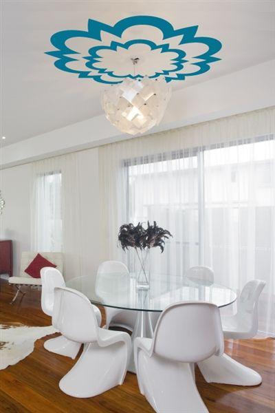 Kaleidoscope-Ceiling Art Decals