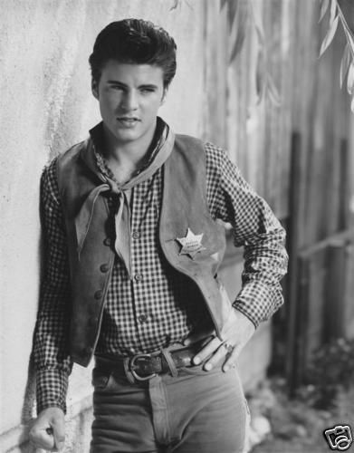 Ricky Nelson in Rio Bravo, 1959 I loved to watch the Nelson show on tv.
