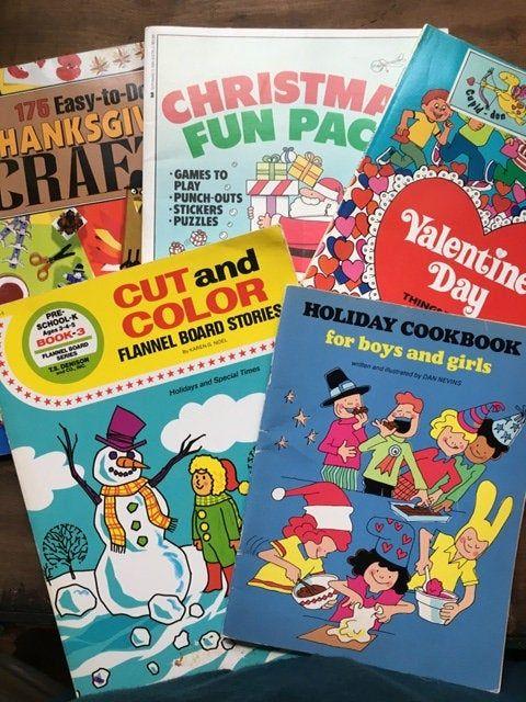 Holiday Craft Books Thanksgiving Kids Activities Creative ...