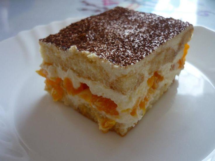 Martuškine mandarinkové tiramisu pre deti. Jednoduché, báječné a bez kávy!