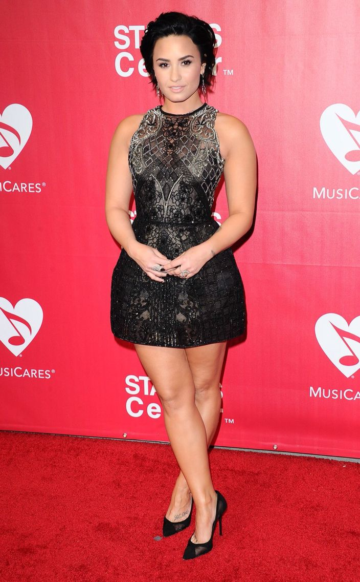 Demi Lovato at the MusiCares Person of the Year in California - February 13th