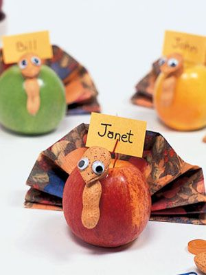 easy and cute!  Thanksgiving Crafts for kids at WomansDay.com - Fun Crafts - Woman's Day