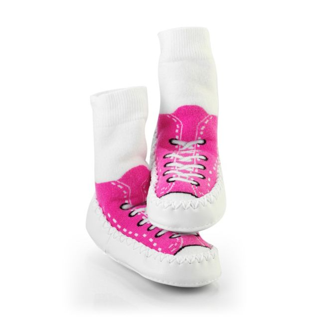 Mocc Ons Sneaker Fuchsia