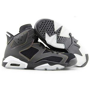 UK sale Men Nike Air Jordan 6 Retro Pelz Grey White Shoes