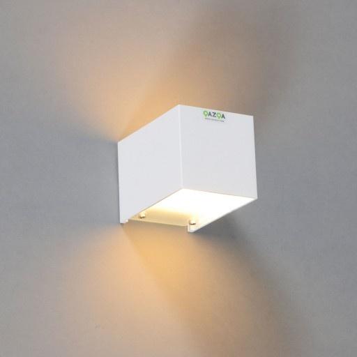 Wandlamp Tabb 1 wit - Wandlampen - Binnenverlichting - Lampenlicht.be ...