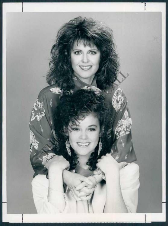 Pam Dawber & Rebecca Schaeffer - Sitcoms Online Photo Galleries