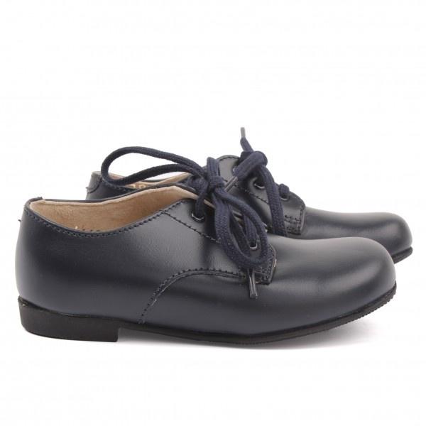 Page Boy Shoes:Start-rite Navy John Lace up Shoes at alexandalexa.com