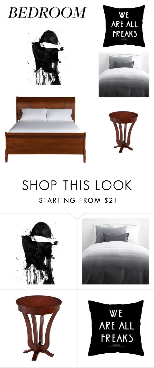 """""""Bedroom"""" by liveevil94 on Polyvore featuring interior, interiors, interior design, dom, home decor, interior decorating, Universal Lighting and Decor, Ethan Allen i bedroom"""