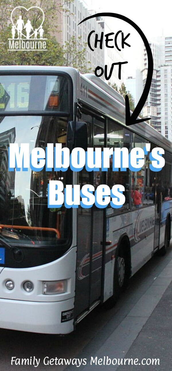 Information on the Melbourne bus transport service. For more details just click the image