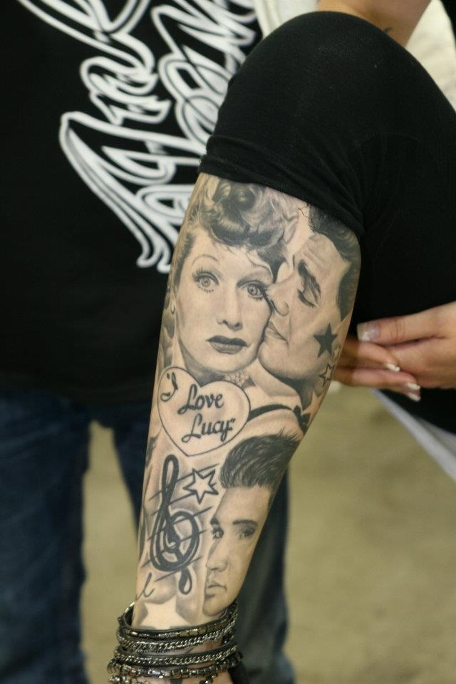 i 39 ve ways wanted an i love lucy tattoo tattoo ideas pinterest i love lucy elvis tattoo. Black Bedroom Furniture Sets. Home Design Ideas