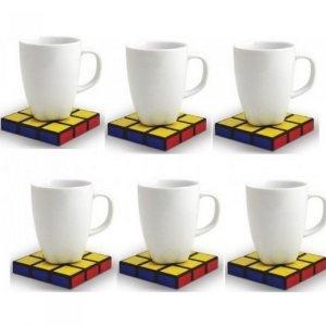Rubik's Cube Coasters