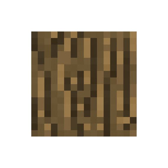 Minecraft Oak Wood ~ Minecraft wood block vinyl wall decal connor room