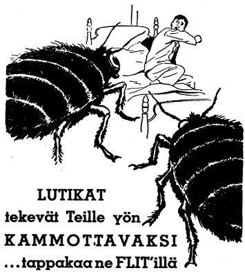 Mainos: Flitin paluu (1934)