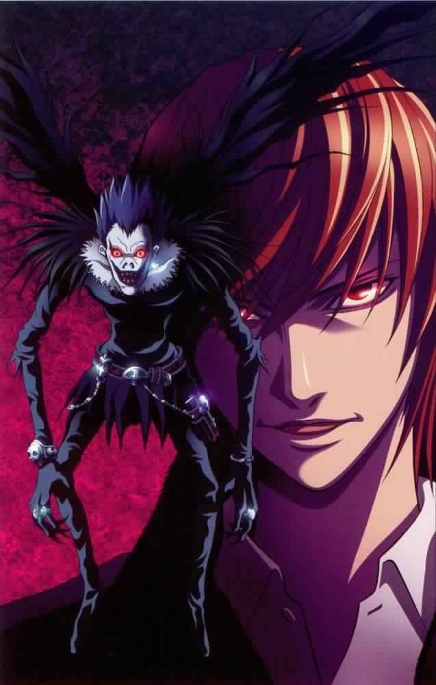 Ryuk and Light Yagami Kira _Death Note Death Note