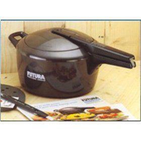 Hawkins HF7L Futura Pressure Cooker, 7-Liter - http://cookware.everythingreviews.net/9355/hawkins-hf7l-futura-pressure-cooker-7-liter.html