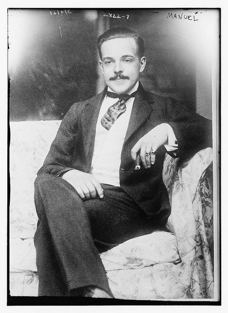 Manuel ll (1889-1932), the last King of Portugal from 1908 to 1910.